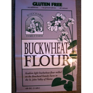 Acadian Light Buckwheat Flour 3.0 Lb. (Per Bag)